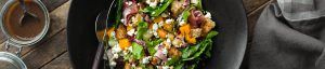 butternut squash Bartlett pear panzanella salad recipe
